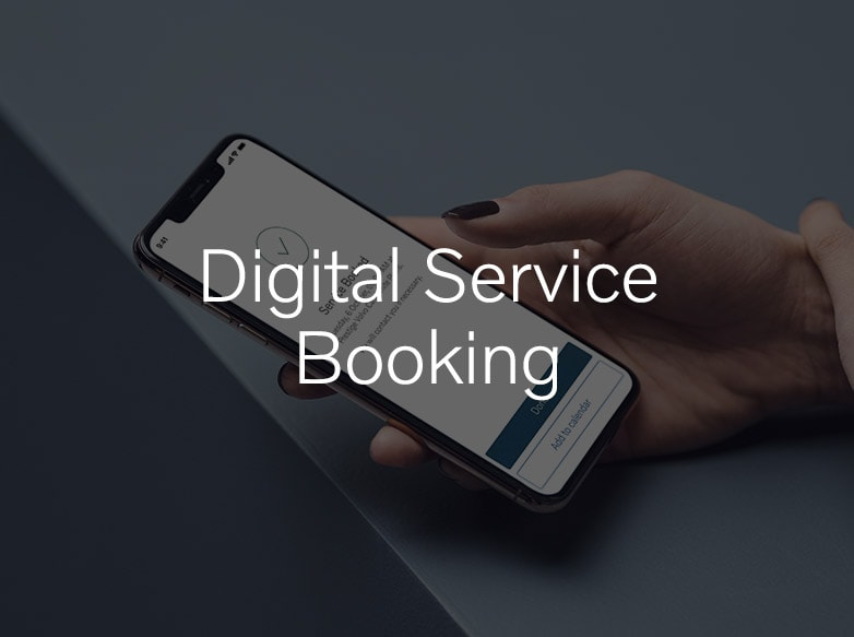 Digital Service Booking